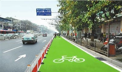 groen-fietspad-china